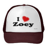 I Love Zoey Trucker Hat