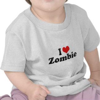 I Love Zombie Tshirt