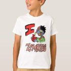 I LOVE ZOMBIES finished 3 T-Shirt