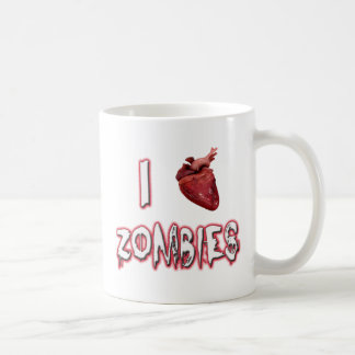 I Love Zombies Mugs