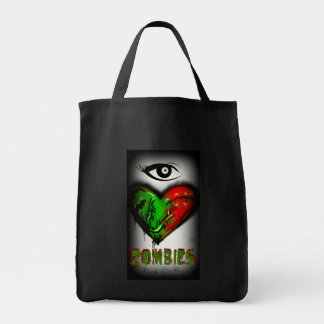 I love Zombies Tote Bag