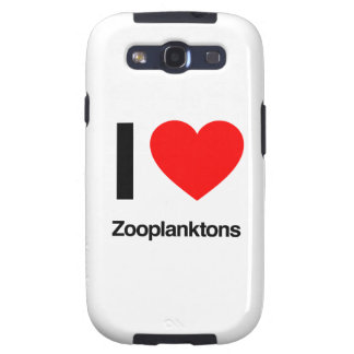 i love zooplanktons samsung galaxy SIII cover