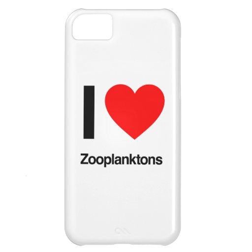 i love zooplanktons cover for iPhone 5C
