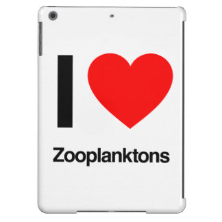 i love zooplanktons case for iPad air