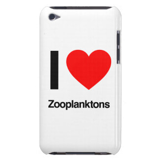 i love zooplanktons iPod touch case