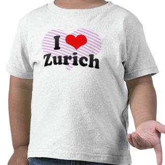 I Love Zurich, Switzerland Tshirts