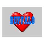 I LoveBuffalo Postcard