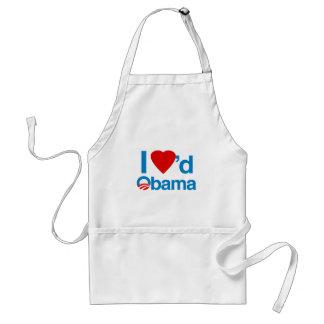 I Loved Obama Adult Apron