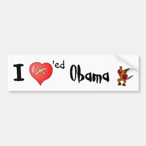 I Loved Obama Bumper Stickers
