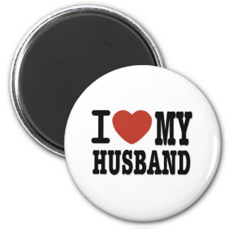 I LOVEMY HUSBAND MAGNET