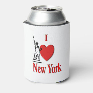 I Lover NY Can Cooler