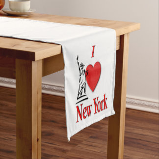I Lover NY Medium Table Runner