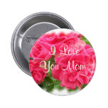 I LoveYou Mum Pinback Buttons