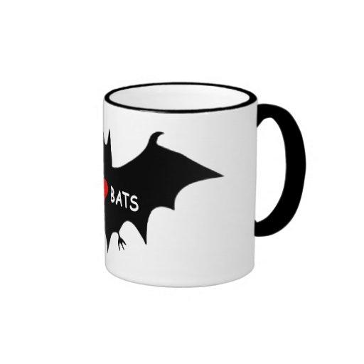 I Luv Bats Coffee Mug