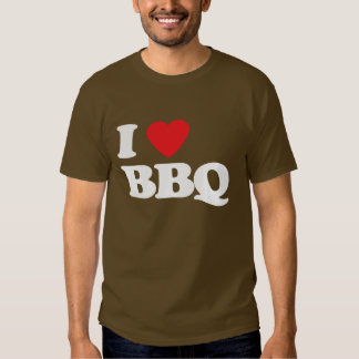 I Luv BBQ Tshirts