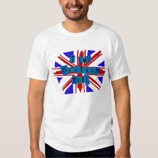 I Luv British Tele T-shirts