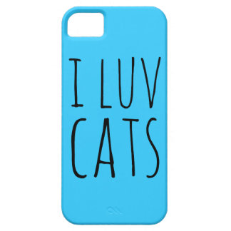 I Luv Cats iPhone 5/5S Case
