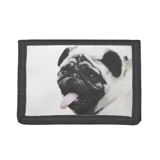I Luv My Pug Tri-fold Wallet