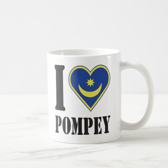 I Luv Pompey Coffee Mug