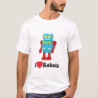 i luv robots blk type T-Shirt