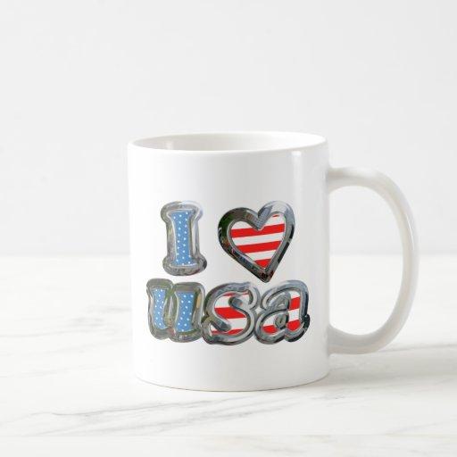 I Luv USA Coffee Mug