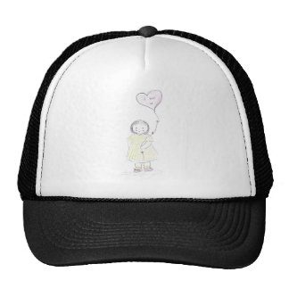 I luv you balloon (mother's day) cap