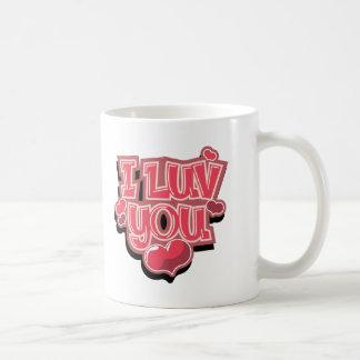 I Luv You Mug