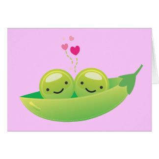 i luv you mush greeting card