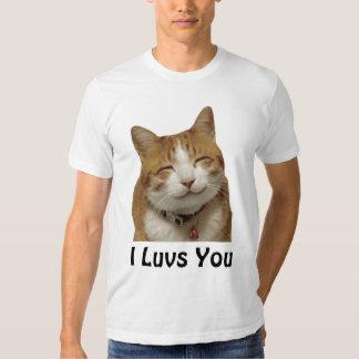 I Luvs You Cat T-shirts
