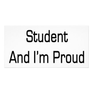 I m A Bad Student And I m Proud Of It Personalized Photo Card