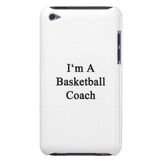 I m A Basketball Coach Barely There iPod Cover