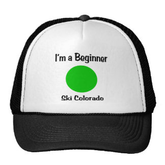 I m a beginner Ski Colorado Trucker Hats