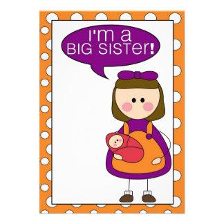 i m a big sister sister announcement
