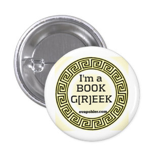 I m a BOOK G R EEK Button in Greek Ring