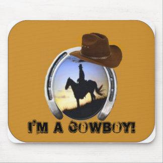 I m A Cowboy Mousepad
