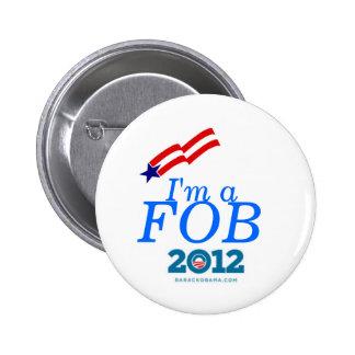 I m a Fan of Barack pin