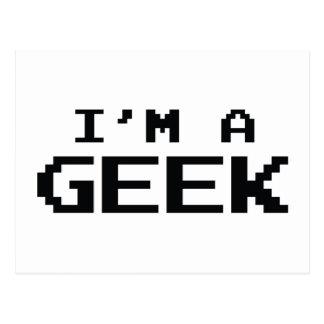 I'm A Geek Postcard