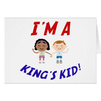 I m a King s Kid Card