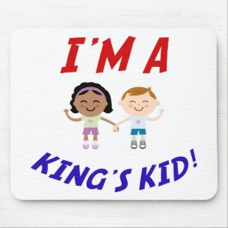 I m a King s Kid Mousepad