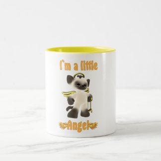 I`m a little angel coffee mugs