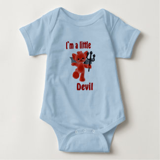 I`m a little devil baby bodysuit