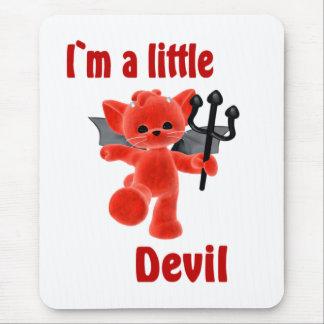 I`m a little devil mousemats