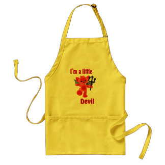 I`m a little devil standard apron