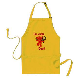 I`m a little devil standard apron