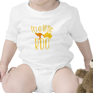 I m a little roo baby maternity cute design baby creeper
