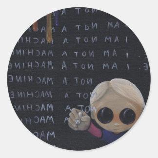 i m a machine stickers