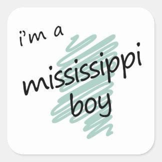 I m a Mississippi Boy Stickers