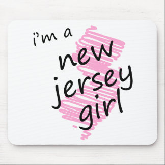 I m a New Jersey Girl Mouse Pad