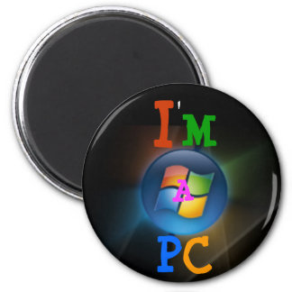 I m a PC Refrigerator Magnet