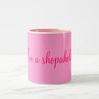 I m a shopaholic coffee mug